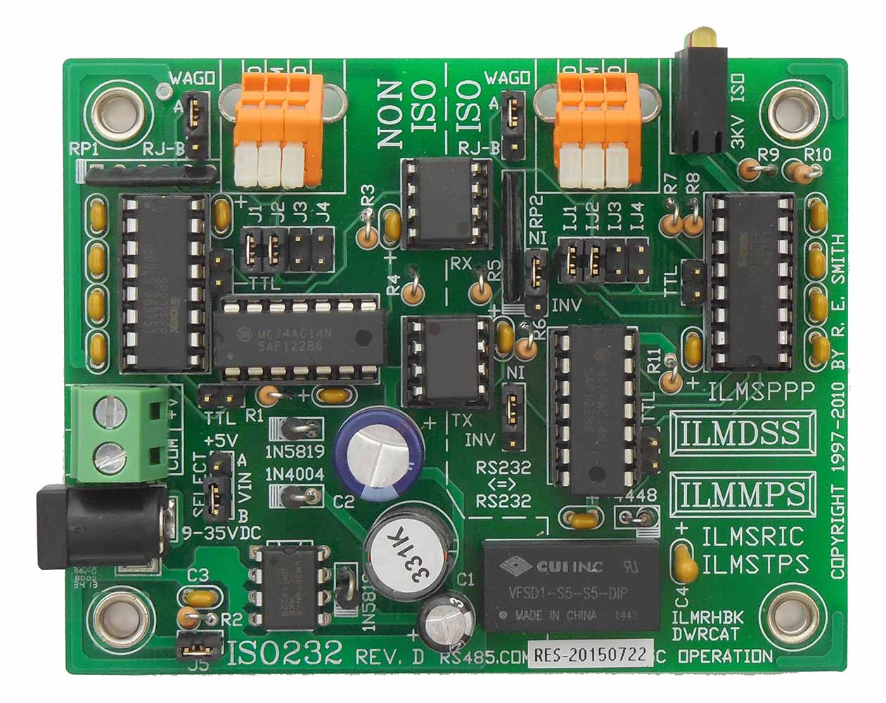 Iusb44t Isolated Usb Rs485 2 Wire Half Duplex Or Rs422 4 Auto Full Wiring Diagram Standard