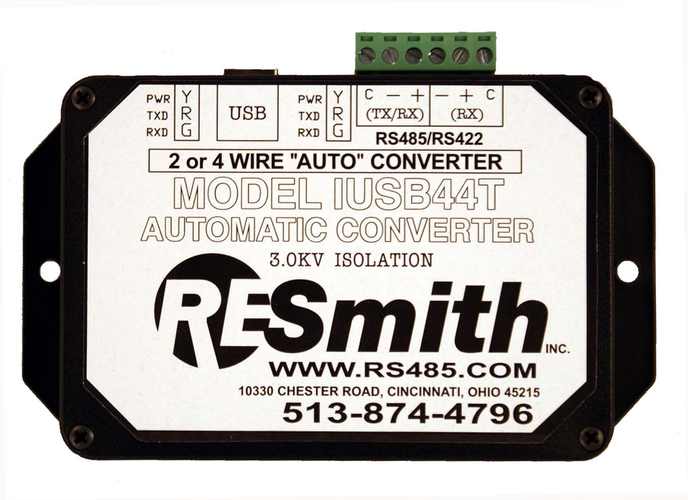 Iusb44t Isolated Usb Rs4852 Wire Half Duplex Or Rs4224 Rs485 Multidrop Wiring Network For You
