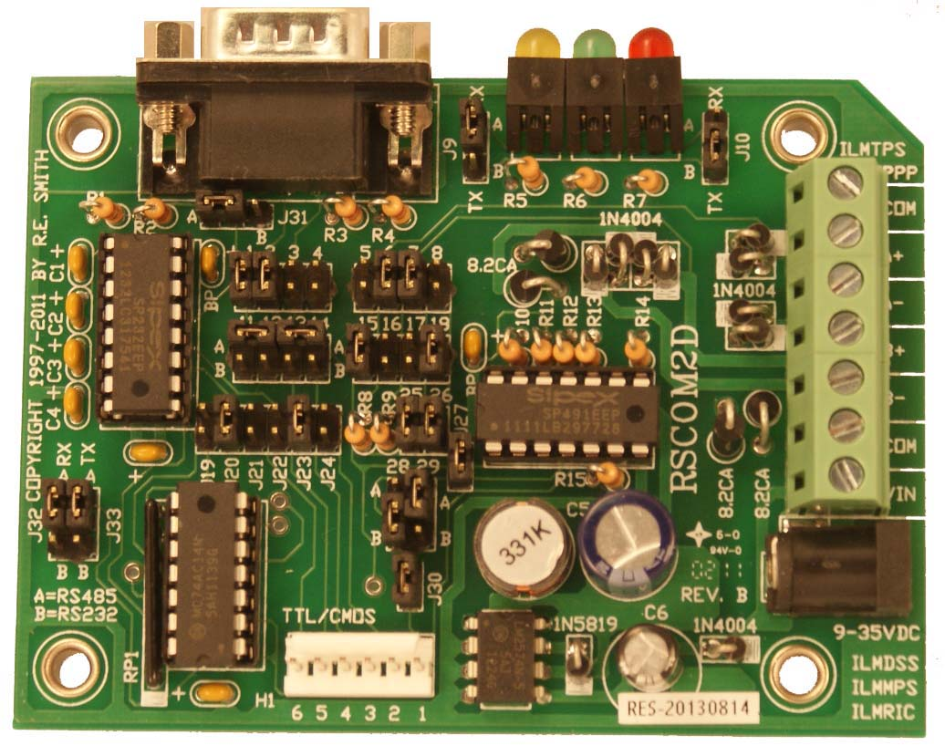 Rscom2d Rs232 Rs422 Rs485 Using Rts And Ttl To Converter Network For You