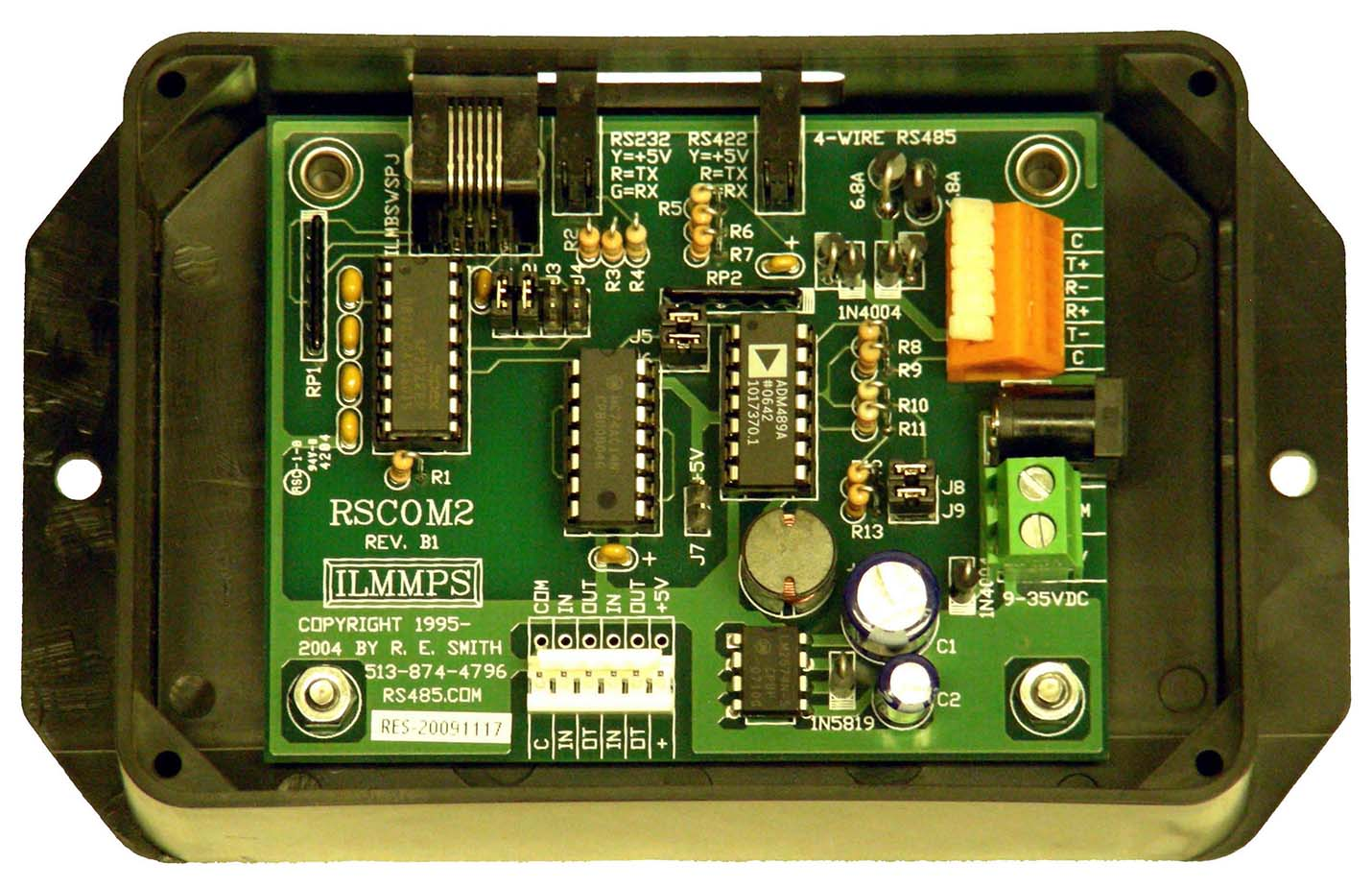 Rscom2 Rs232 Rs422 Rs485 Using Rts And Ttl To Converter Network For You